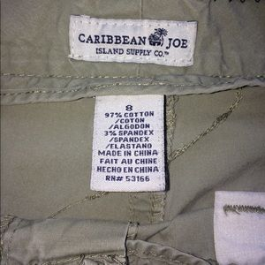 Caribbean Joe ISLAND SUPPLY CO. Cargo shorts